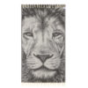Lushrobe Lion Turkish Cotton Heavyweight Towel (700 GSM)